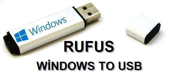 Rufus İndir – Önyüklemeli USB Sürücü Oluşturma Programı